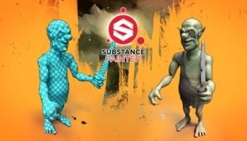 Substance Painter – PBR texturing a goblin