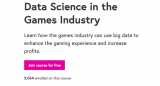 Data Science in the Games Industry