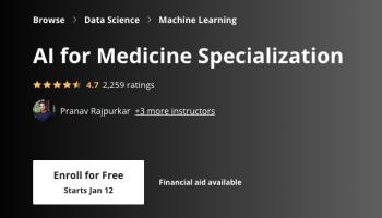 AI for Medicine Specialization