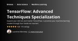 TensorFlow: Advanced Techniques Specialization